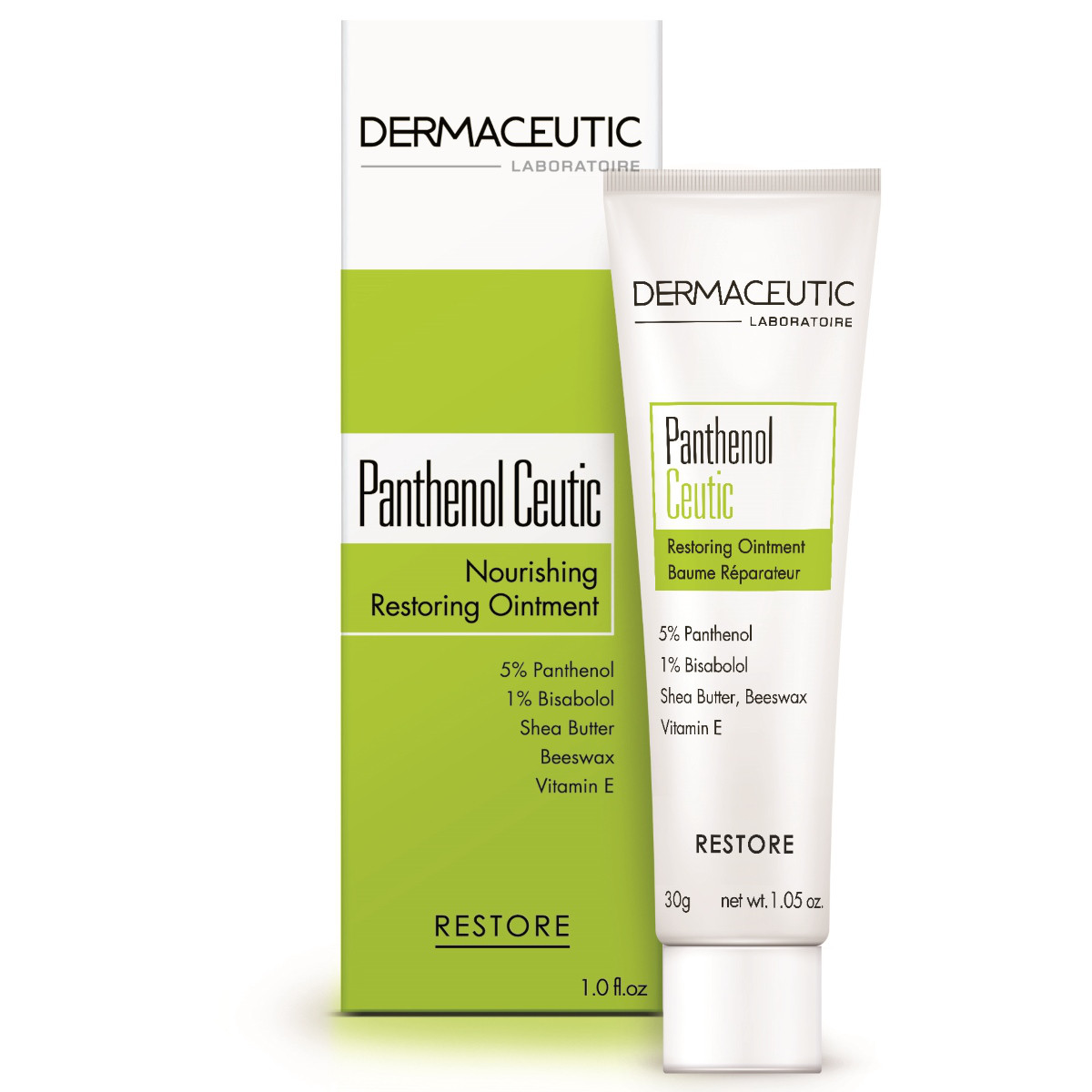 Dermaceutic Восстанавливающий бальзам Panthenol Ceutic,30г