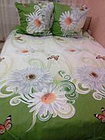Комплект постельного белья в расцветке
