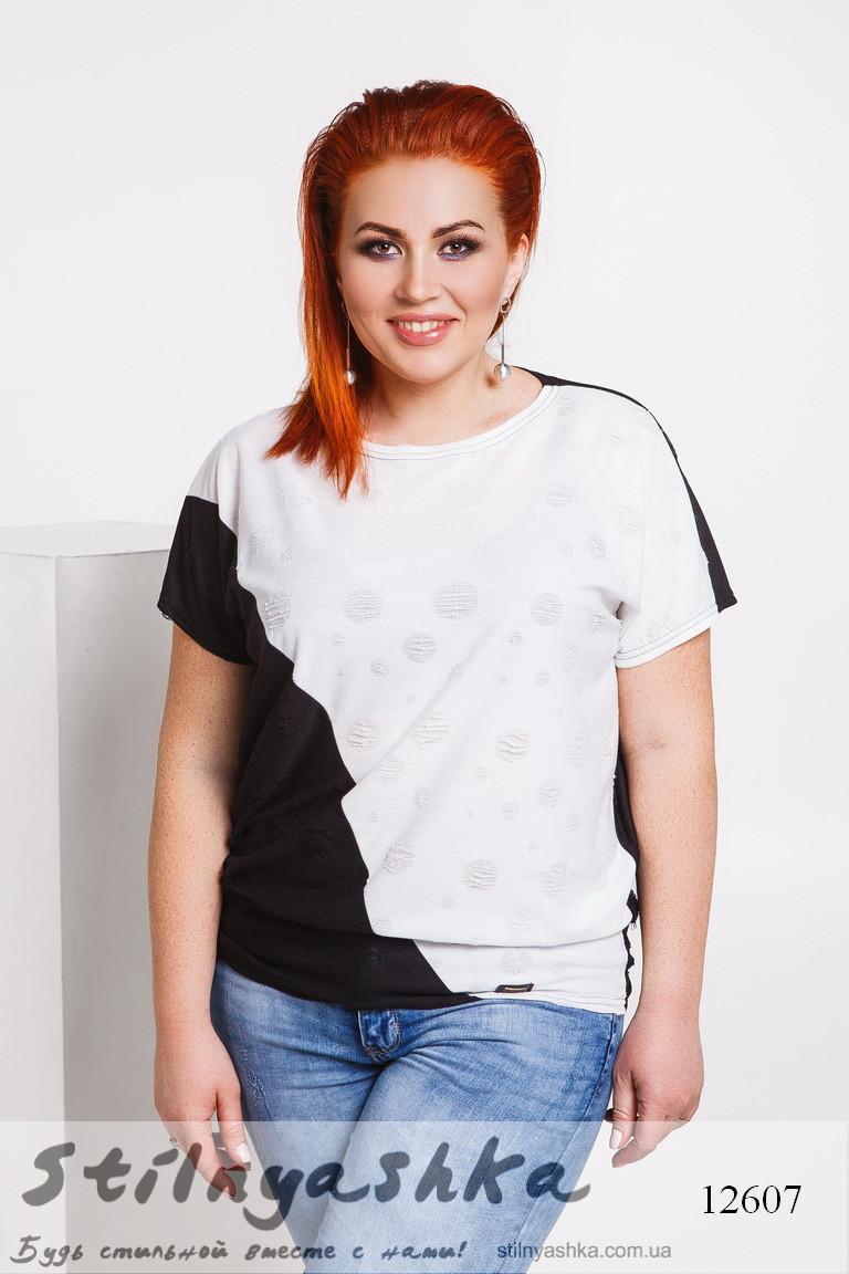 футболка большого размера