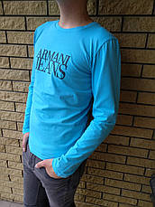 Батник мужской брендовый реплика ARMANI JEANS, фото 2