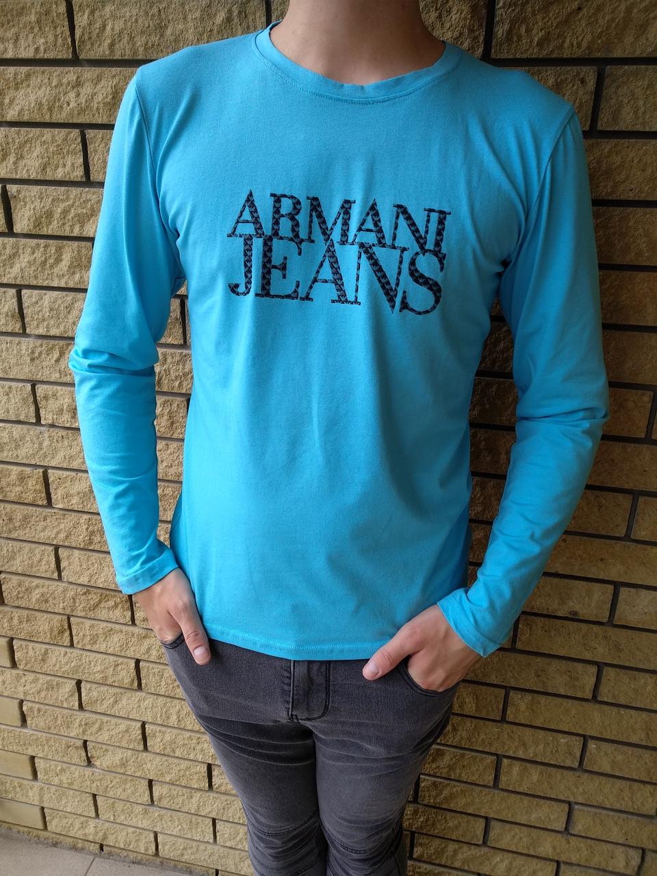 Батник мужской брендовый реплика ARMANI JEANS