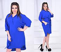 Платье рубашка в расцветках 31874