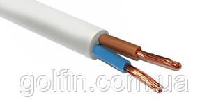 Провод соединительный ПВС 2х0,75 белый Интерэлектро
