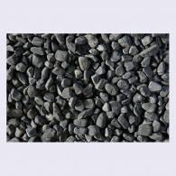 Мраморная черная галька Эбона 7-15 мм, фото 1
