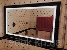 Зеркало с подсветкой Блэк 80*60см