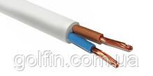 Провід з'єднувальний ПВС 2х1 білий Інтерелектро