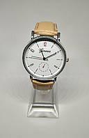Женские классические часы Geneva: 100-47 бежевый, фото 1