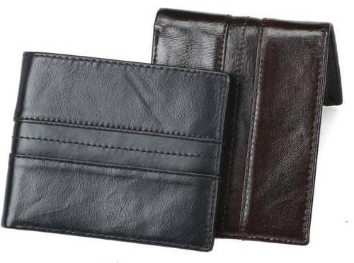 37e034819591 Кожаное портмоне TIDING BAG YP-202A, черное — только качественная продукция  от «SuperSumka»