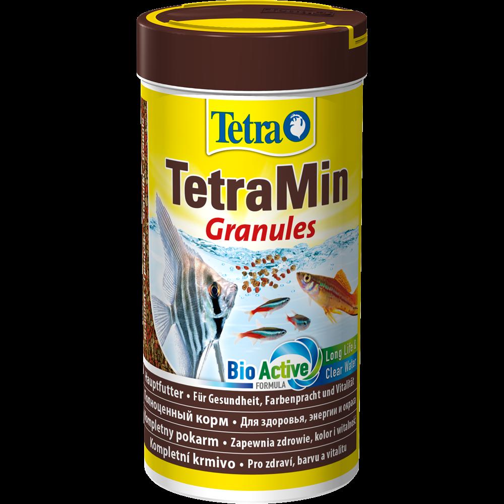 Корм для всех видов рыб TetraMin Granules 250 мл гранулы