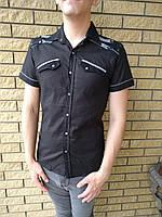 Рубашка мужская летняя коттоновая брендовая WEAWER JEANS