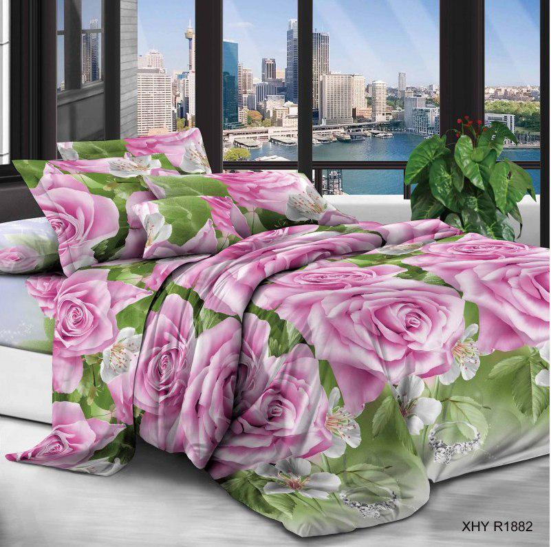 Комплект постельного белья 3D двуспальный