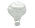 """Бумажный декор для праздника """"Воздушный шар"""" красный с белым, фото 4"""