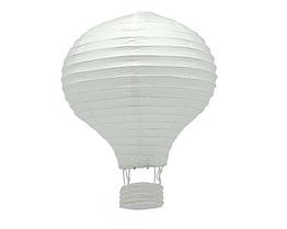 """Бумажный декор для праздника """"Воздушный шар"""" белый"""