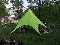 Палатка детская зеленая, 8 метровая Звезда, фото 1