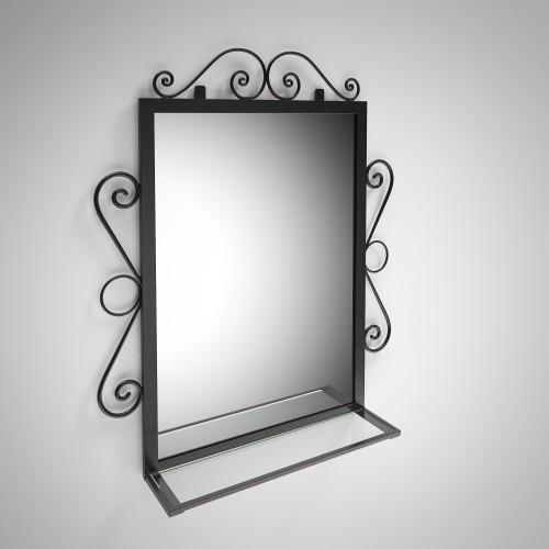 Зеркало Дартмуд Черный бархат (Tenero TM)