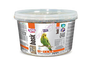 ЛолоПетс Полнорационный корм для крупных попугаев ведро 1.5 кг