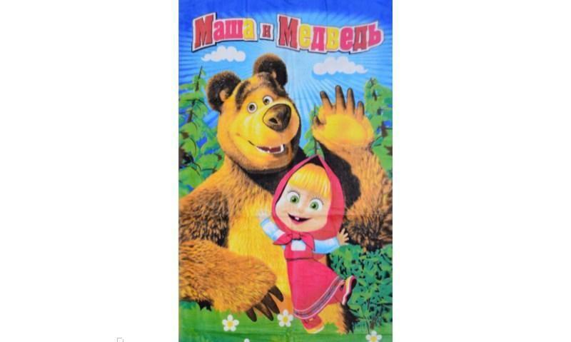 """Пляжное полотенце банное""""Маша и Медведь"""""""