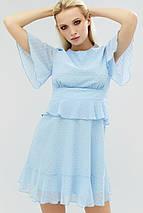 Женское шифоновое платье приталенного силуэта (Balis crd), фото 2