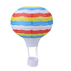 """Бумажный декор для праздника """"Воздушный шар"""" мультиколор"""