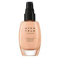 Тональний крем для обличчя Avon Ейвон Спокійне сяйво 30 мл,Avon True, nude, натуральний