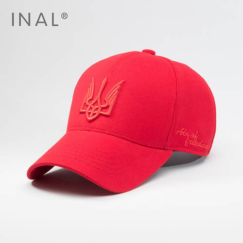 Кепка бейсболка, Air of Freedom, L / 57-58 RU, Хлопок, Красный, Inal