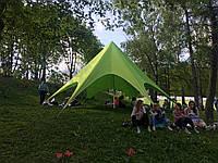 Палатка Звезда-8 детская маленькая - ЗЕЛЁНАЯ, фото 1