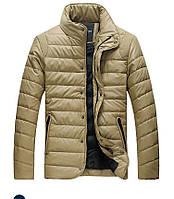Мужская кожаная куртка 3 цвета