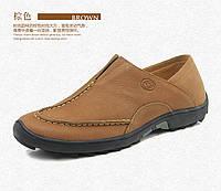 Кожаные стильные туфли 2 цвета