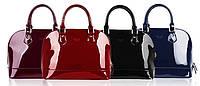 Лакированная сумка 4 цвета 4 вида