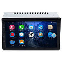 ☀Автомагнитола 7'' Lesko 7002 PDS MP3/WMA/ACC с GPS и Андроид навигатором в автомобиль, фото 3