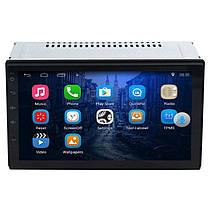 ☀Магнитола 7'' Lesko 7003А память 1/16GB 2 Din MP3 GPS навигатор Wi Fi Андроид 7.1 для авто, фото 3