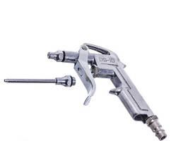 Пістолет продувний короткий з додатковим наконечником 80мм AIRKRAFT DG-10-1-3