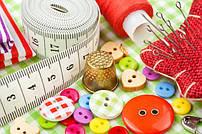 Принадлежности для шитья, вязания и хенд-мейда