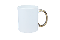 Чашка для сублимации ручка (ЗОЛОТО)