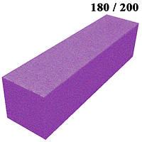 Бафик Фиолетовый на Пенообразной Основе для Гель-Лаков и Шлифовки