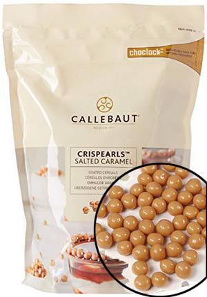 Crispearls Salted Caramel Callebaut з карамельно - молочного шоколаду, 0,8 кг, фото 2