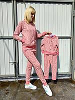 Копия Весенний спортивный костюм для мамы и дочки Family Look, Фемили Лук
