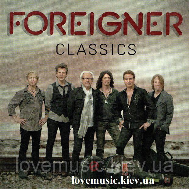 Музичний сд диск FOREIGNER Classics (2012) (audio cd)