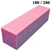 Бафик Розовый на Пенообразной Основе для Гель-Лаков и Шлифовки