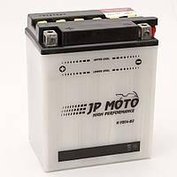 Акумулятор мотоциклетний JP Moto 14Ah-12v CB14-B2 (YB14-B2), (134х89х166), 12В, 14Ач, EN185А
