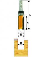 Фреза кромочная прямая ф12.7х26, хв.8мм (арт.10534)