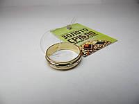 Золотое женское кольцо с драгоценными камнями. Размер 17,5