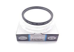 Светофильтр защитный Kenko 55мм UV