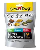 Микс витаминов для собак GimDog Gimborn (ДжимДог Джимборн) Nutri Pockets, 150 г