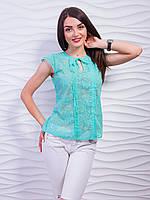 Эффектная легкая  женская блуза (42-48), доставка по Украине