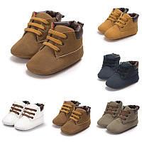 Пинетки обувь детская ботинки мягкая подошва взуття дитяче для детей