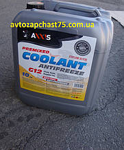 Антифриз жовтий G12 Coolant Axxis (до -30 градусів) 10 літрів (Польща)