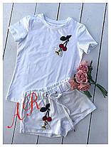 Костюм шорты и футболка с нашивкой эластан, фото 2