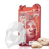 Тканевая маска для лица с коллагеном ELIZAVECCA Collagen Deep Power Ringer Mask Pack, 1шт