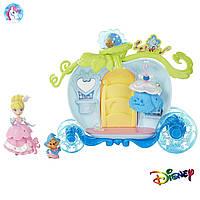 Игровой набор Disney Princess Little Kingdom Принцессы Дисней Маленькое королевство Золушка с каретой
